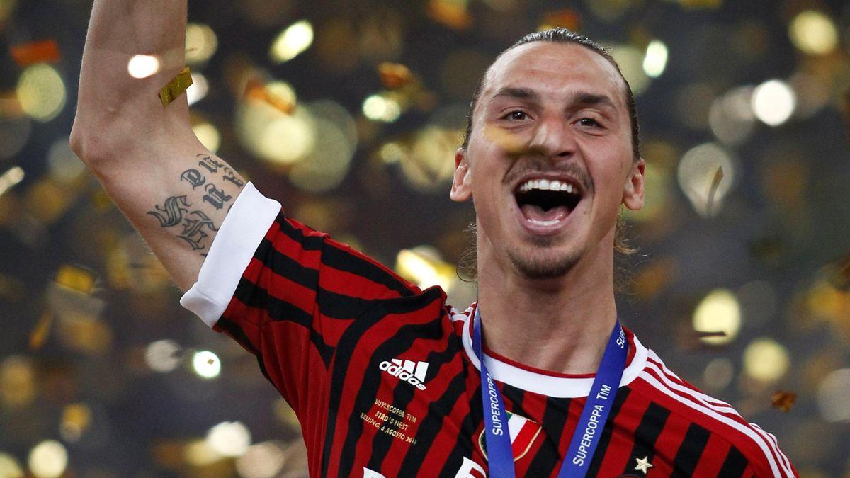 Zlatan Ibrahimovic Milan AP/LA PRESSE