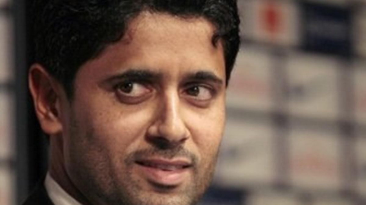 president of the Paris Saint-Germain, Nasser Al-Khelaifi
