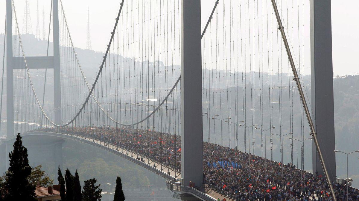 istanbul, boğaz köprüsü, bosphorus bridge
