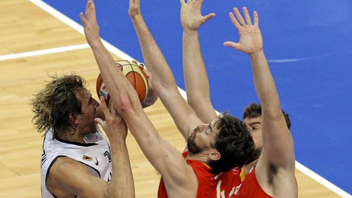 España-Alemania Eurobasket FOTO: EFE