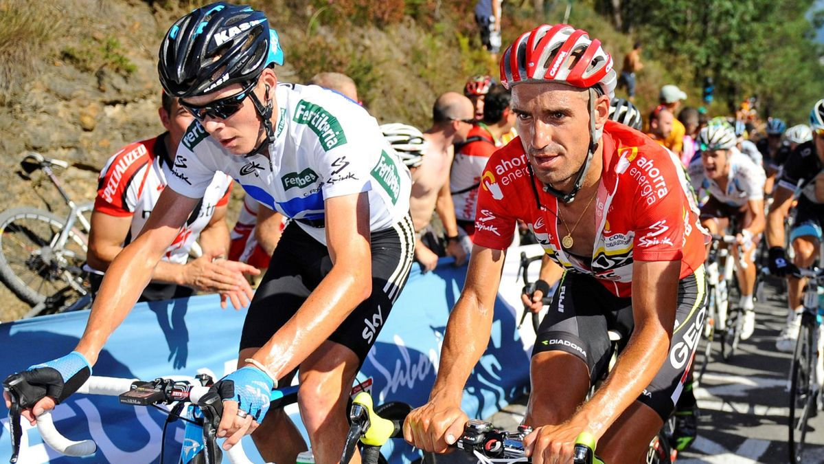 Juan Jose Cobo Geox Chris Froome Sky Vuelta a Espana 2011