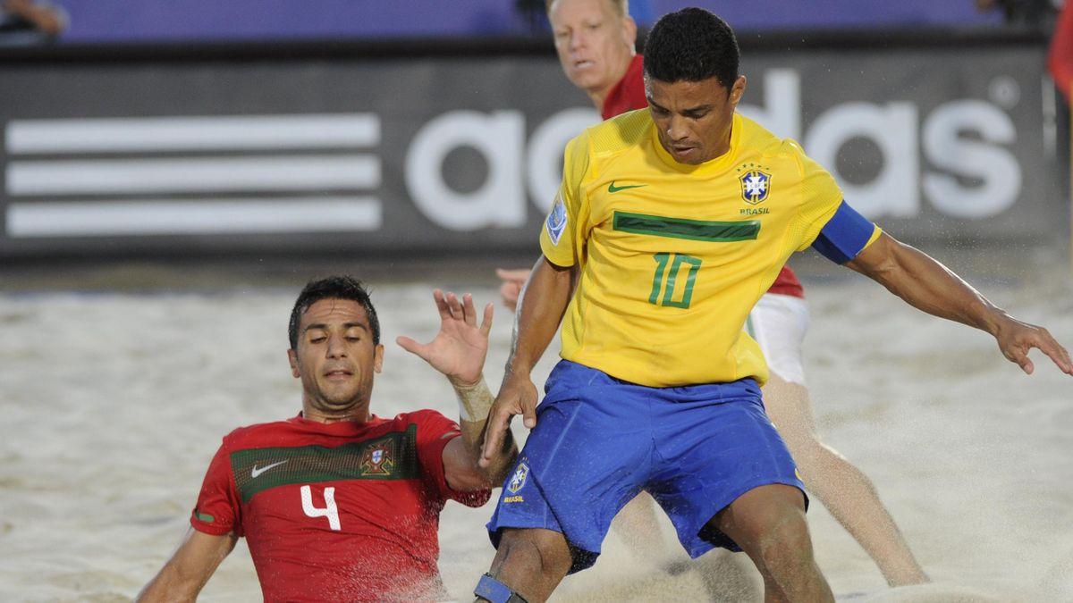 2011 World Cup beach soccer Brazil-Portugal