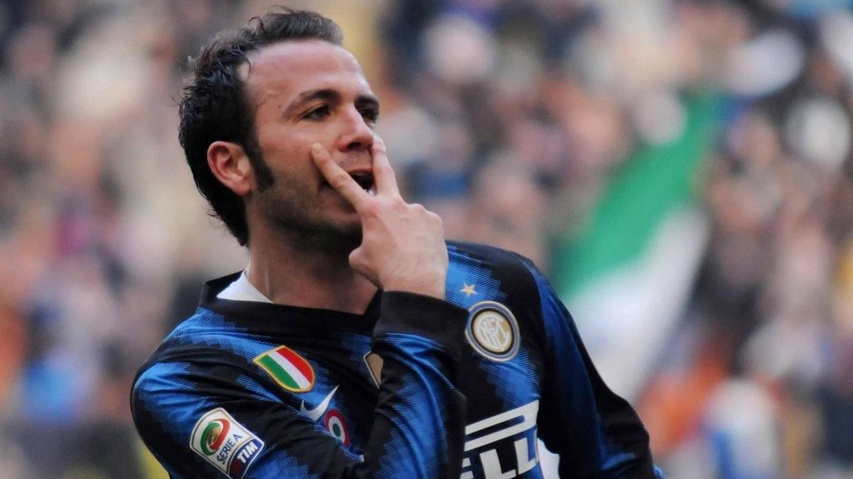 Football - Serie A 2011/2012 - Inter - Pazzini
