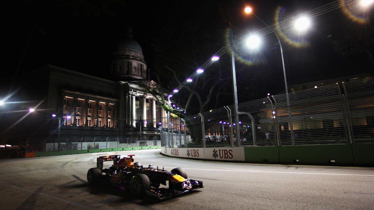2011 Singapore GP Red Bull Vettel