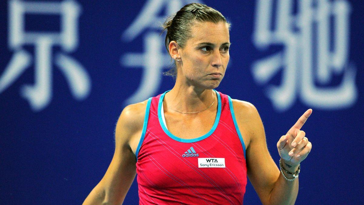 Flavia Pennetta - China Open 2011