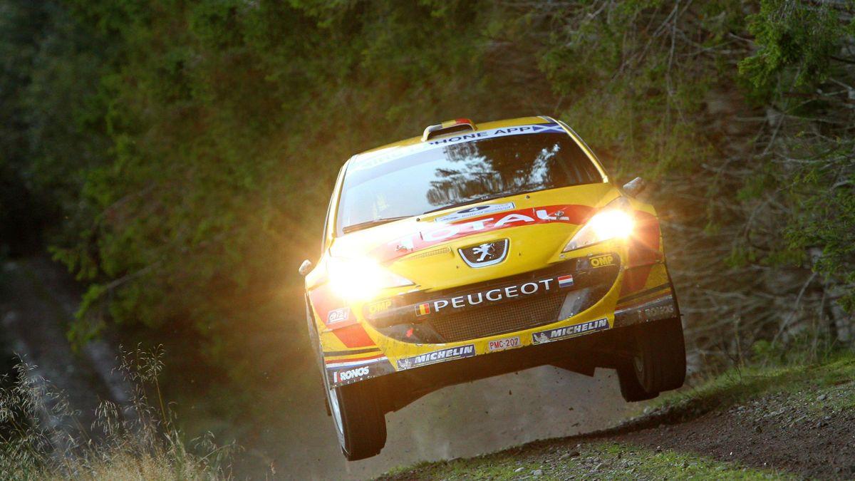 2011 Scotland Rally Peugeot Neuville