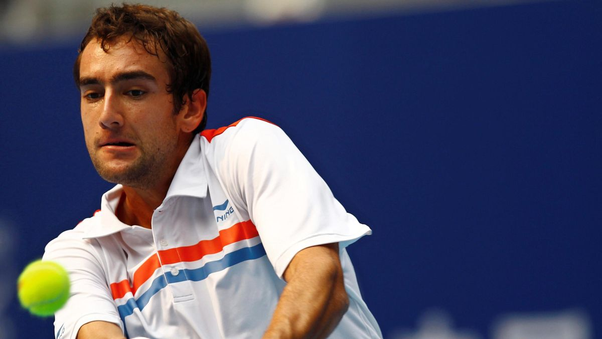 TENNIS Marin Cilic during his China Open match against Ivan Ljubicic