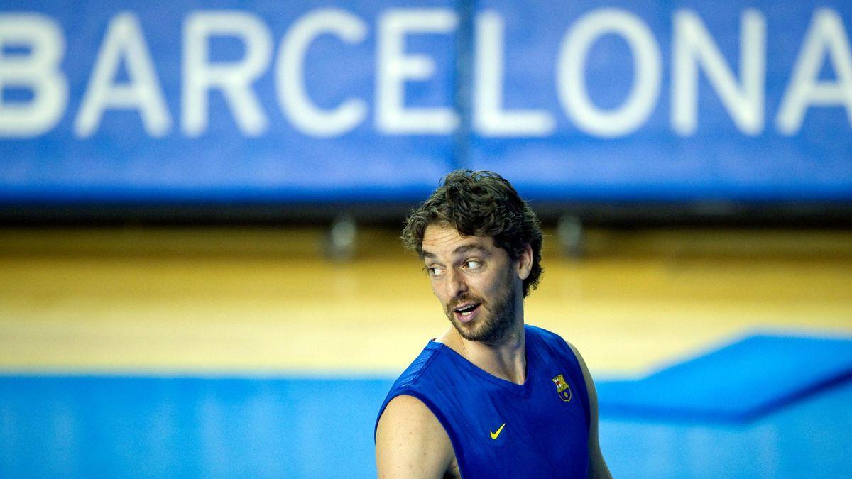 Pau Gasol Barcelona Regal / FOTO: AFP