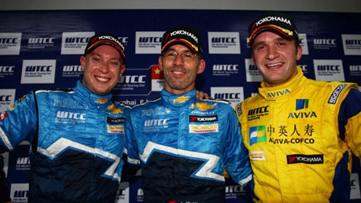 Alain Menu, Rob Huff y Turkington Shanghai FIA WTTC 2011