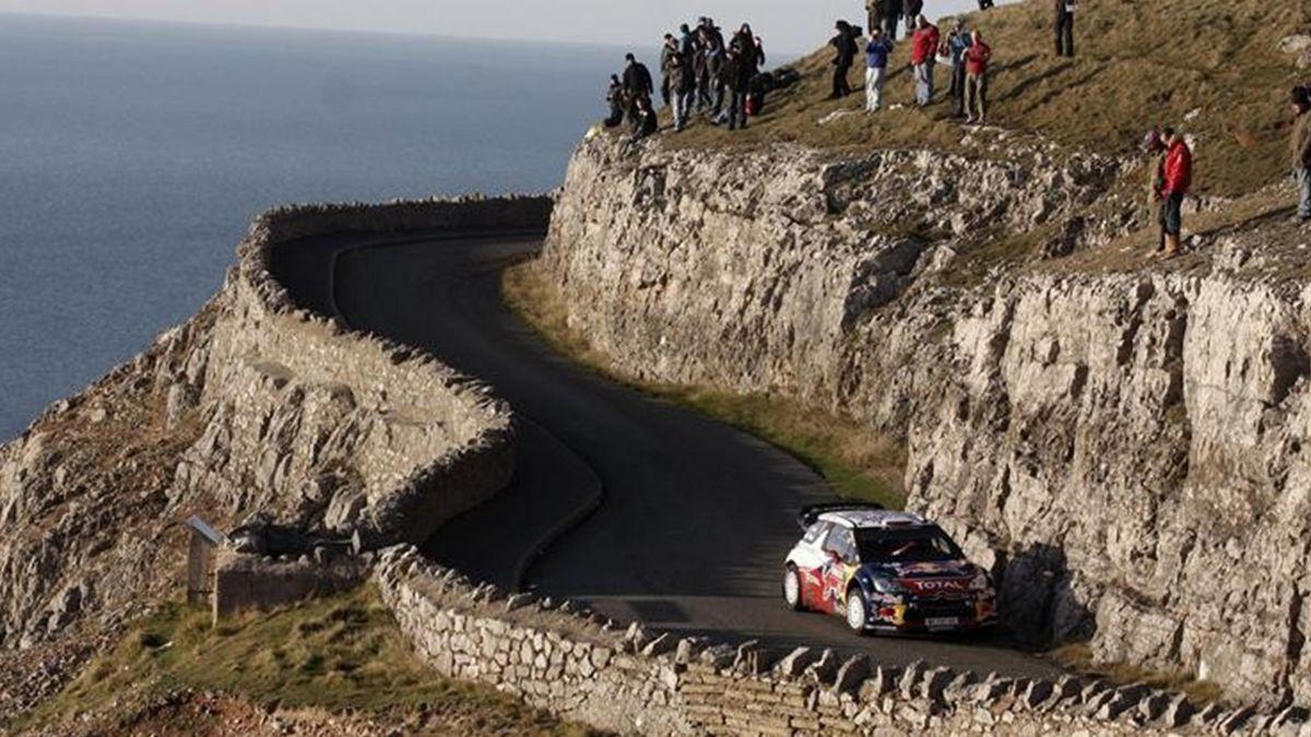 Sebastien Loeb Rally Gran Bretaña 2011 WRC