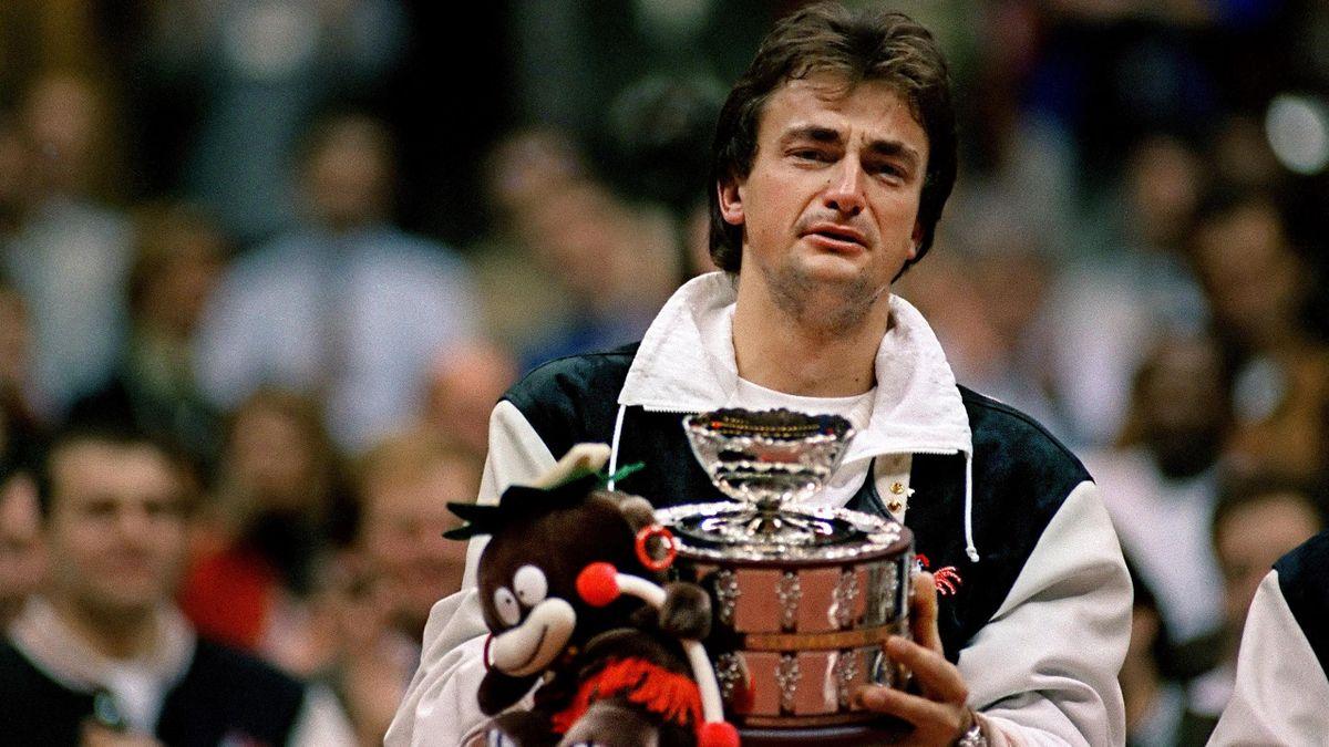 Coupe Davis 1991 - Henri Leconte ou Henri le fou - Eurosport