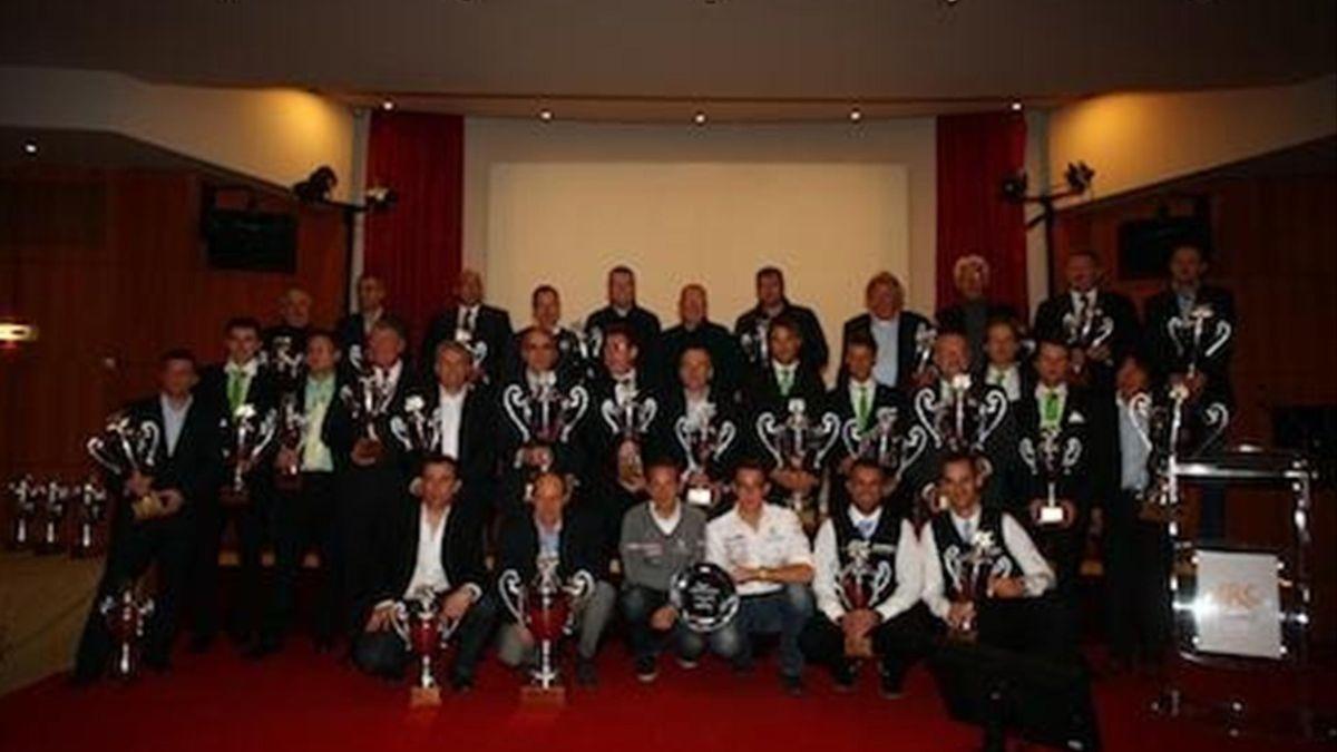Gala final IRC 2011 París Andreas Mikkelsen