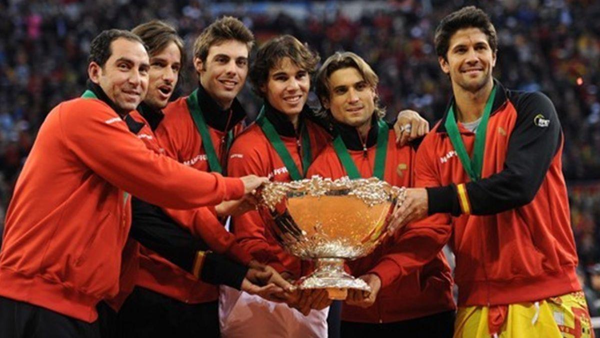 2011 Coupe Davis Finale Espagne