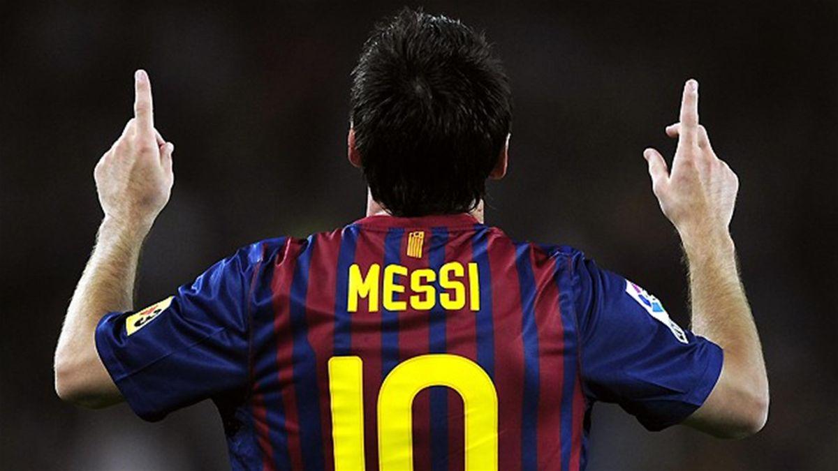 FOOTBALL Messi Barcelona 2011