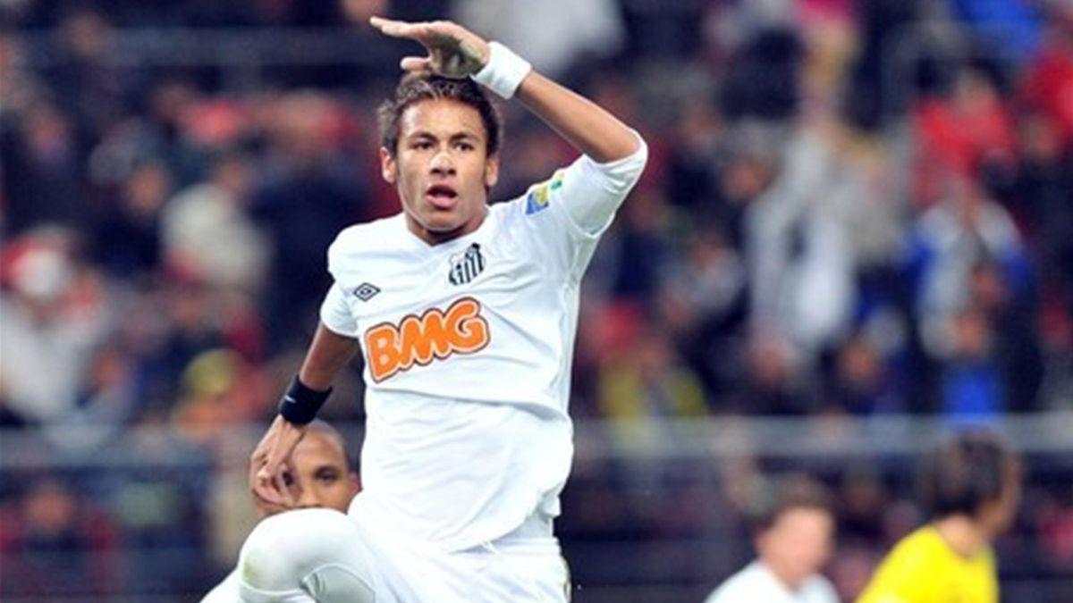 FOOTBALL 2011 Santos-Kashiwa (Neymar)
