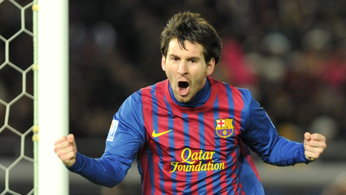 World Cup Clubs 2011 Barcelona Messi