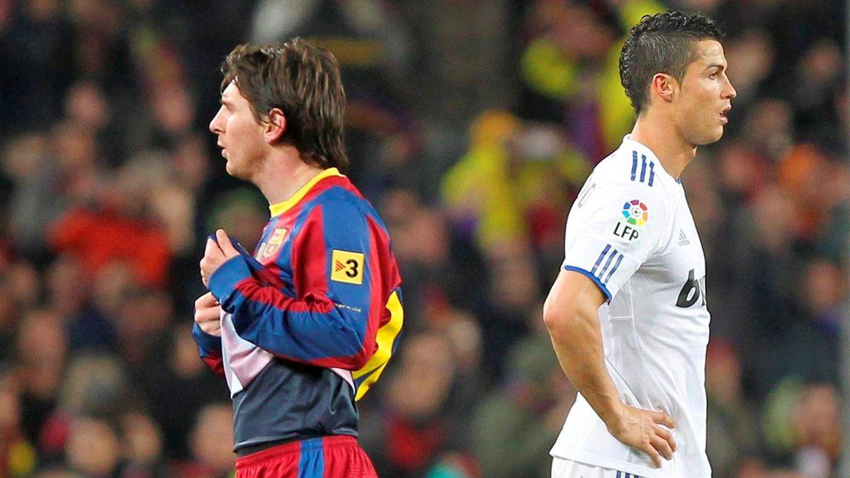 2011 Primera Division Real Madrid FC Barcelona Lionel Messi Cristiano Ronaldo