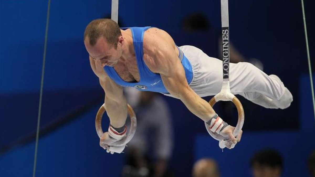 Matteo Morandi - Italy - Artistic Gymnastics World Championships Tokyo 2011