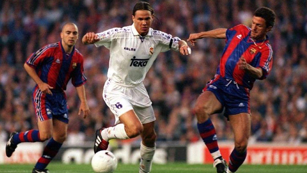 Real Madrid Barcelona Clásico 1997 Redondo Popescu