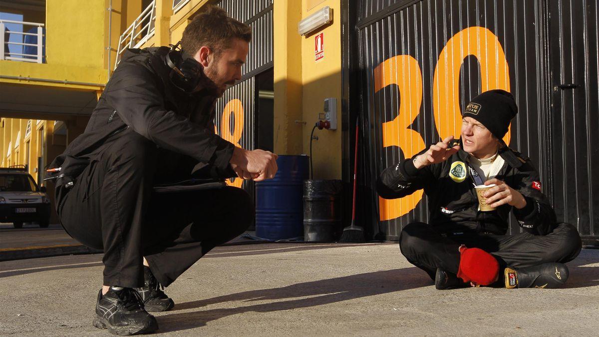 2012 Tests Cheste Renault Raikkonen