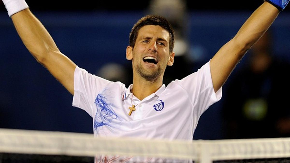 Tennis 2012 Australian Open Djokovic