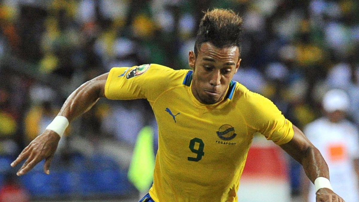 FOOTBALL 2012 Gabon Pierre-Emerick Aubameyang