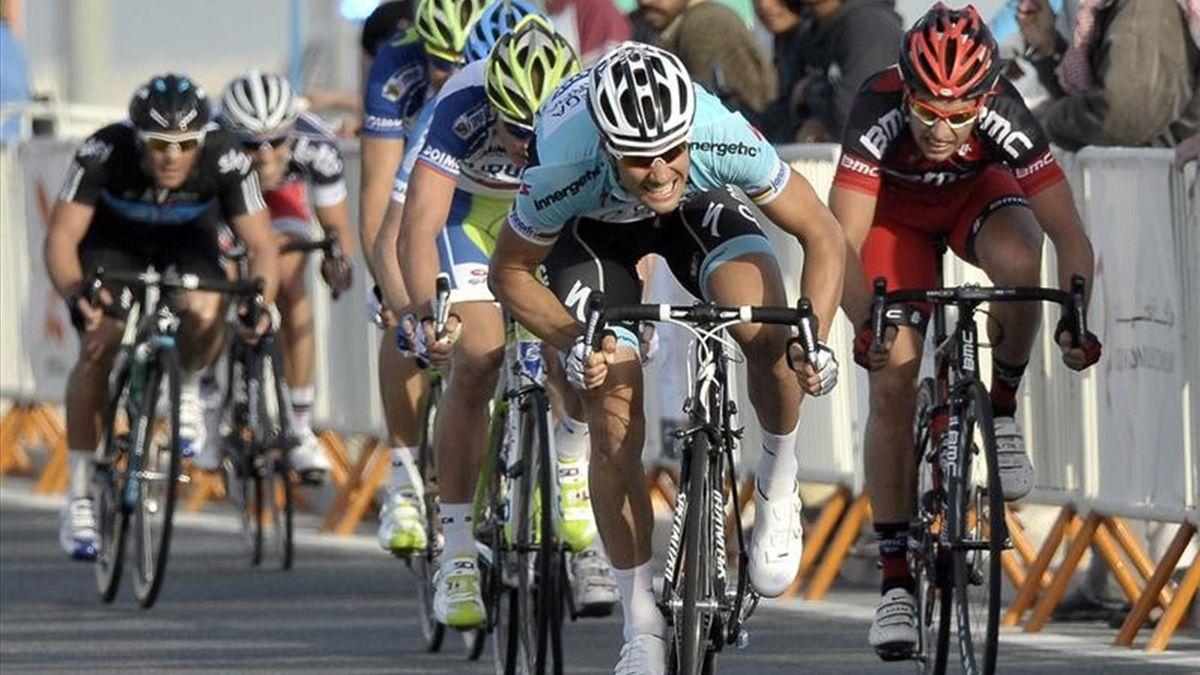Tom Boonen Tour Qatar 2012