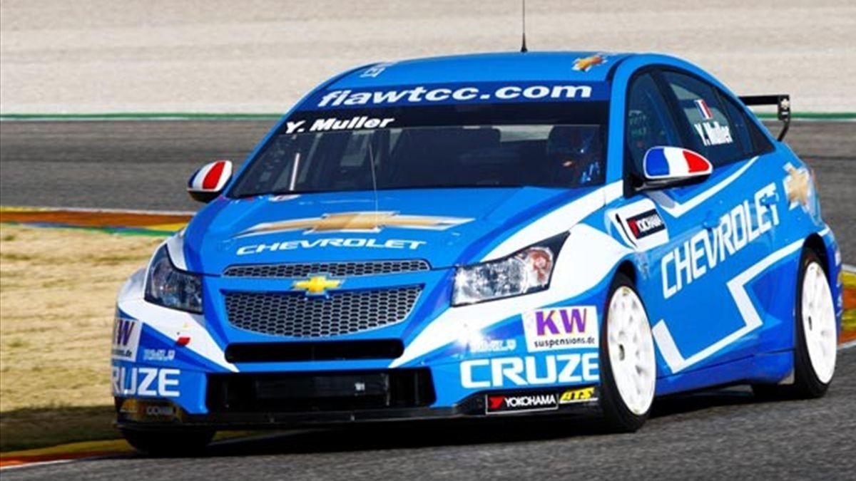 2012 WTCC testing Chevrolet champion Yvan Muller
