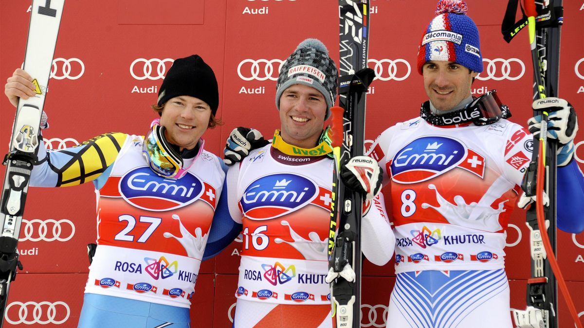 2012 Sochi Podium Thomsen Feuz Théaux