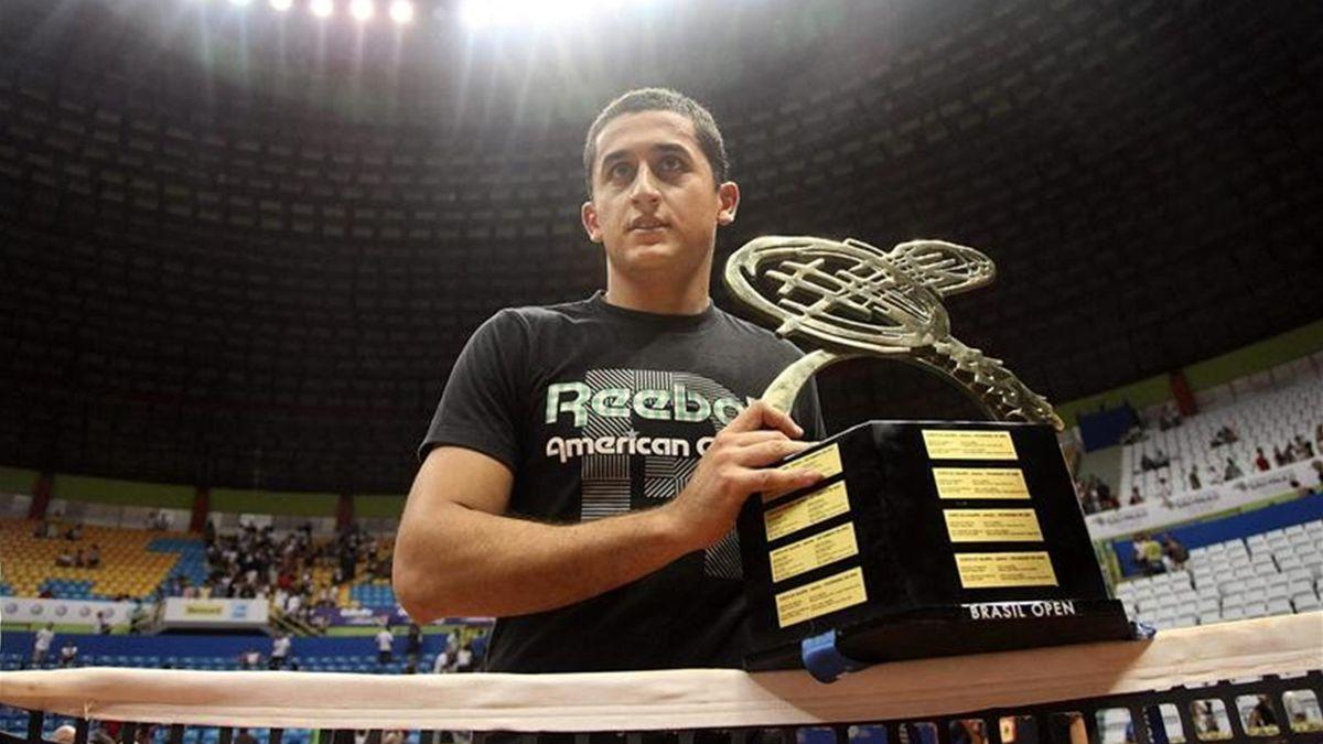 Almagro gana en Brasil.EFE