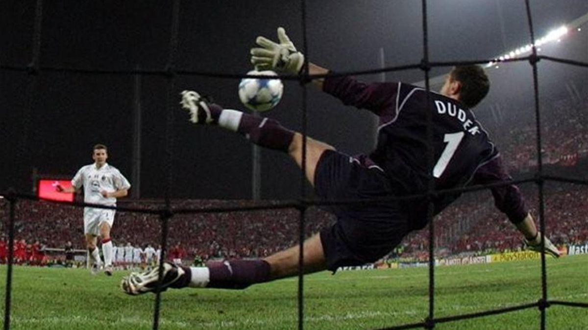 2006 Champions League Milan-Liverpool Dudek, Shevchenko