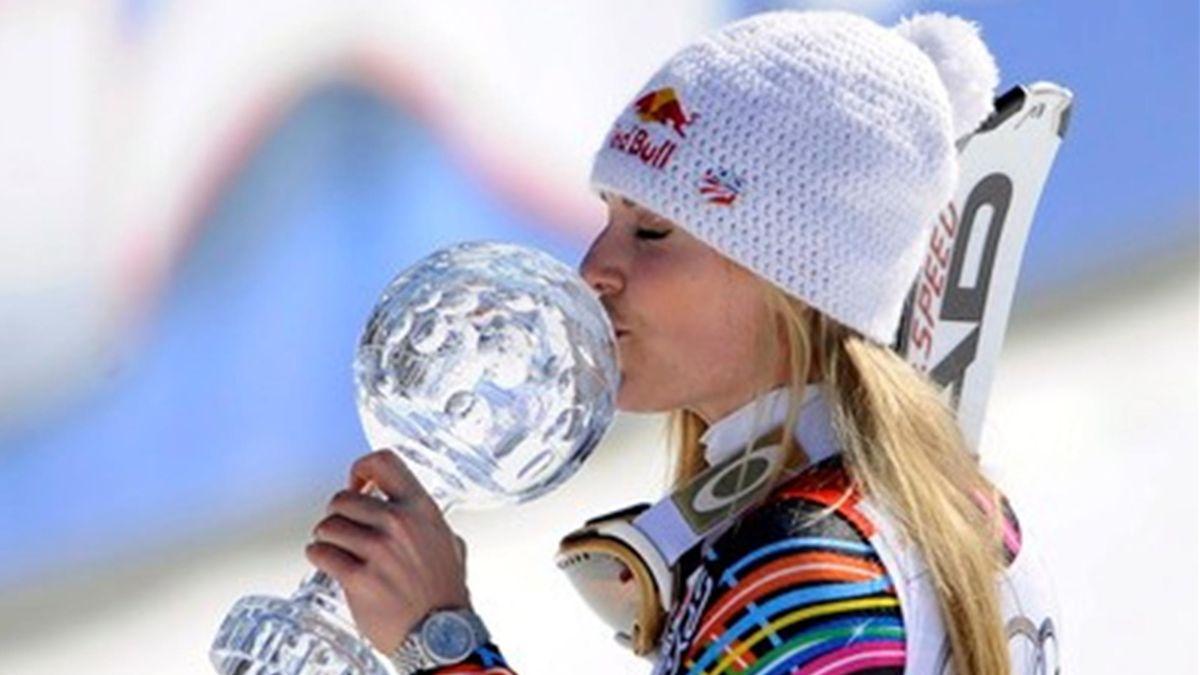 Lindsey Vonn Schladming 2012