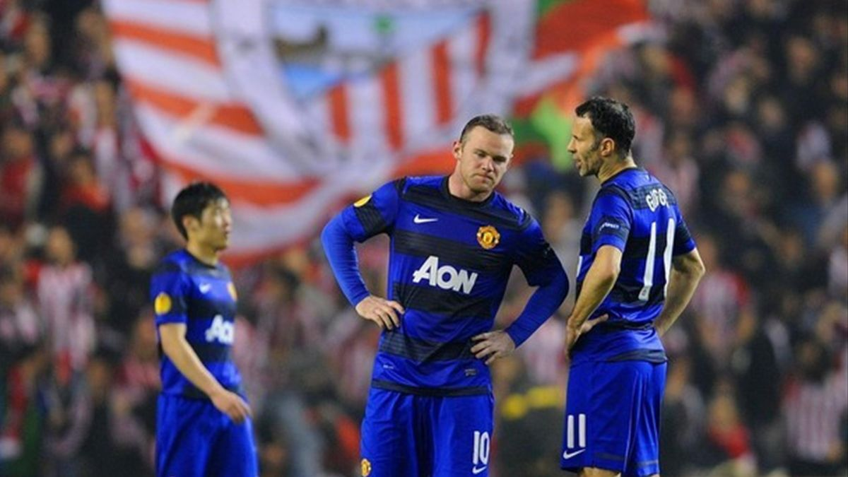 Rooney Giggas Athletic Bilbao Manchester United 15/03/2012
