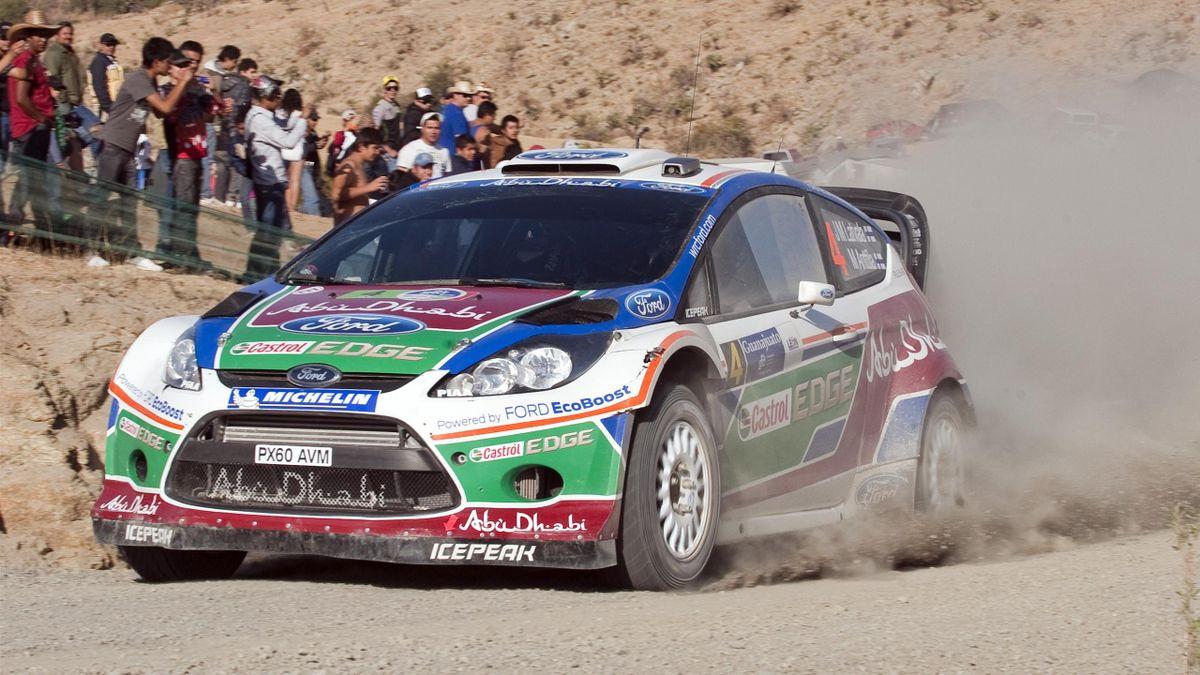 WRC Ford Latvala Mexico