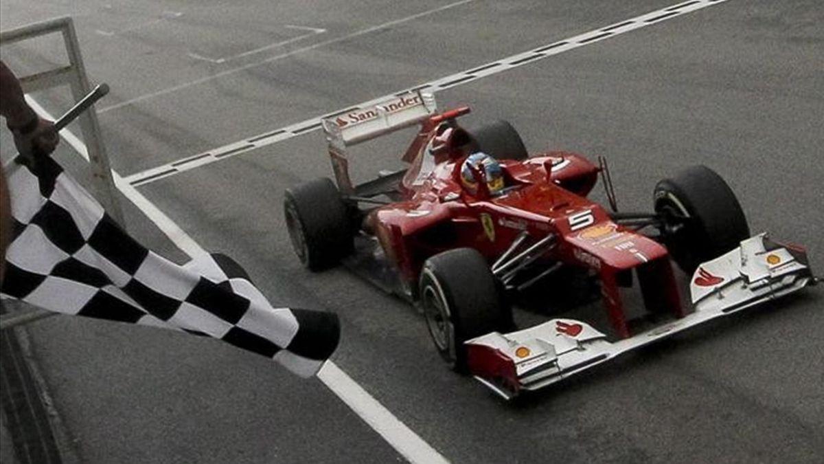 2012 Australia Fernando Alonso Ferrari