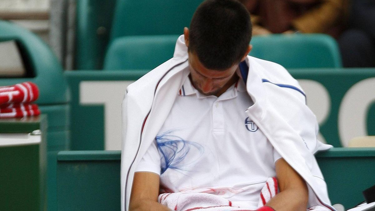 2012 Novak Djokovic Montecarlo