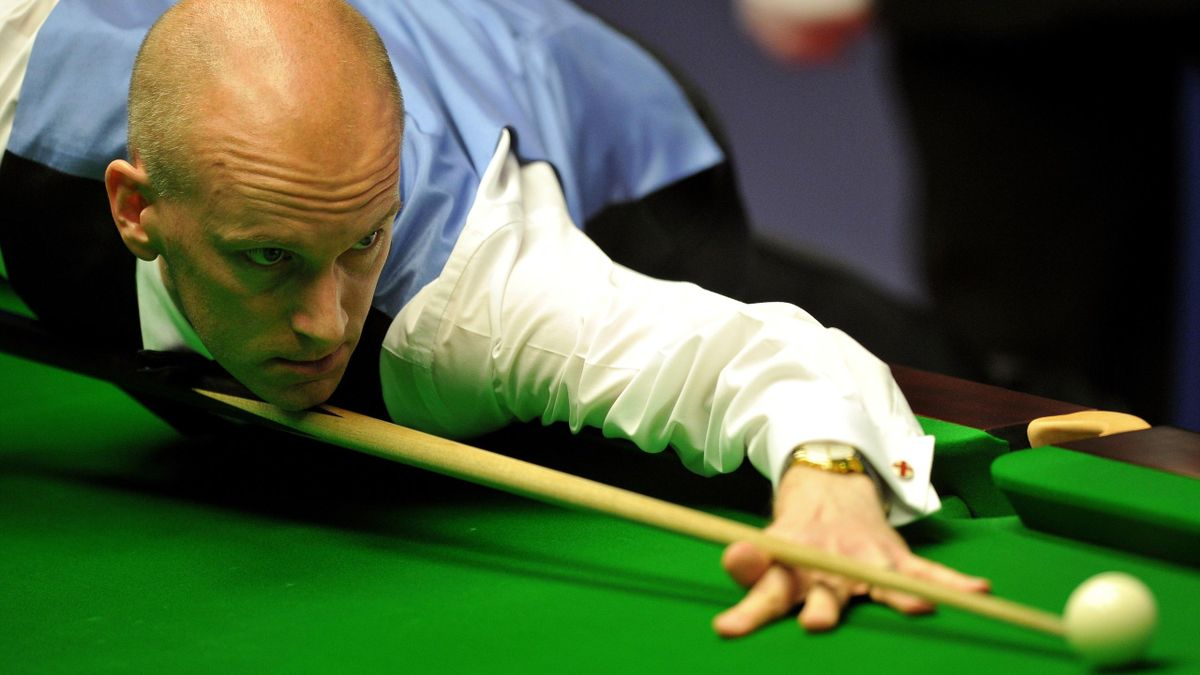 Ebdon in action (AFP)