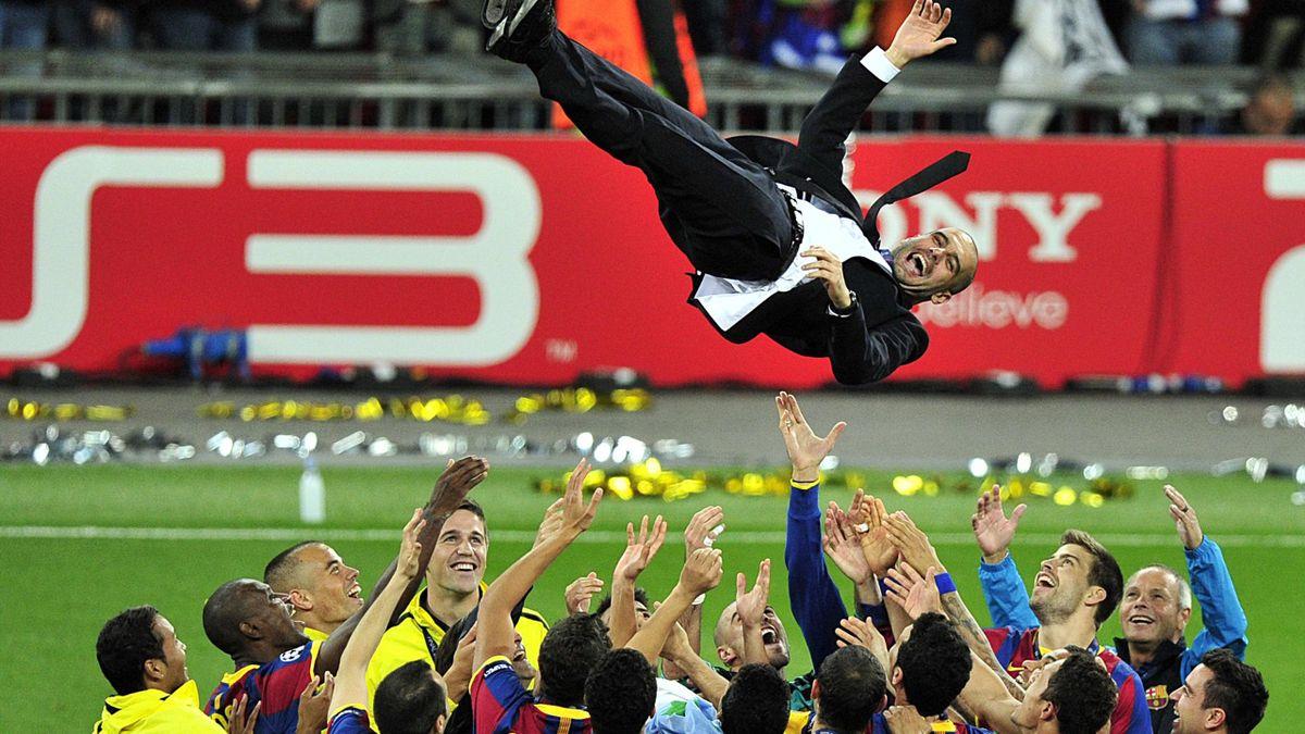 Pep Guardiola after Champions League final 2011