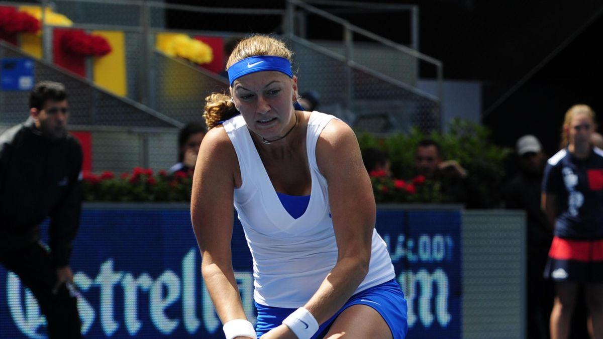 TENNIS Petra Kvitova at WTA Madrid