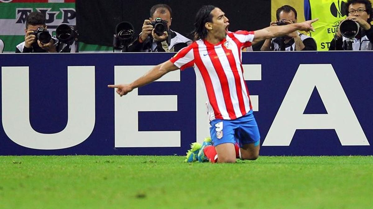 Falcao Atlético final Europa League