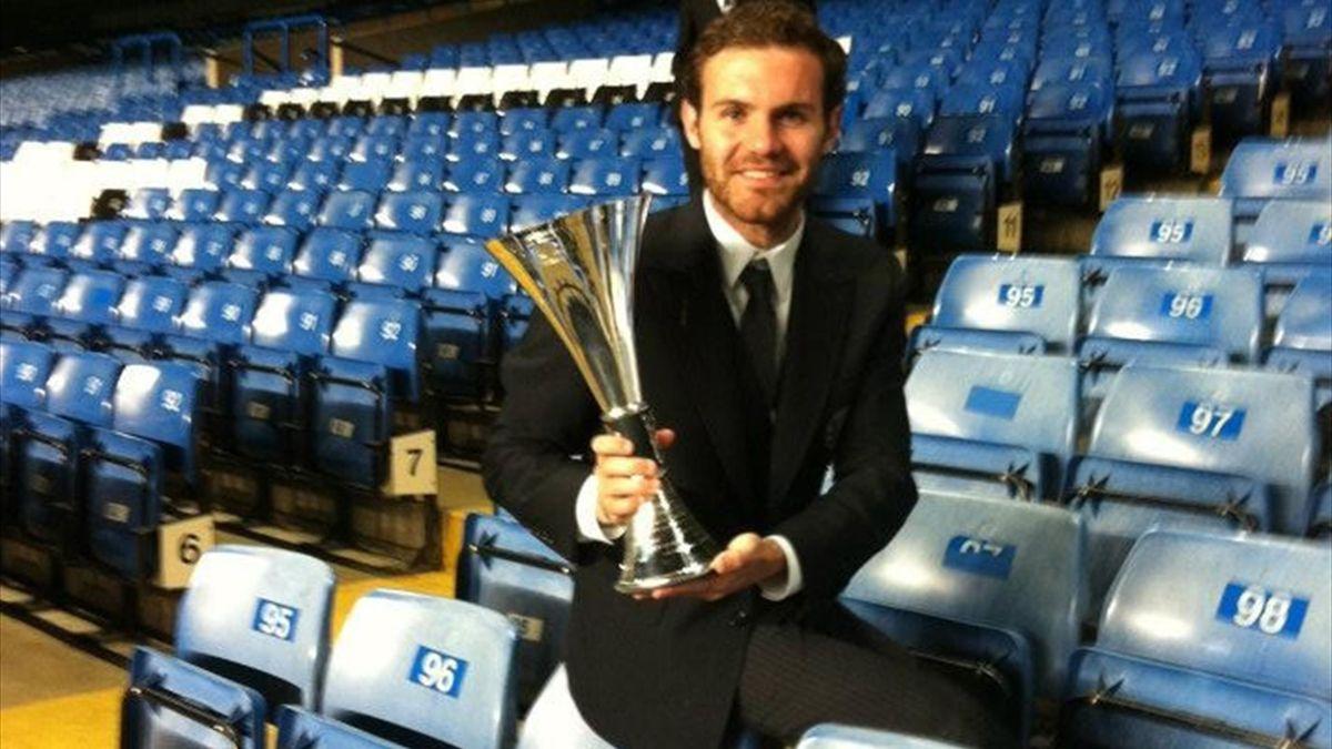Juan Mata Player of the year
