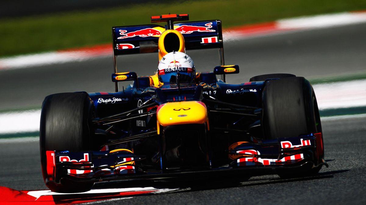 2012 Spanish GP Red Bull Vettel