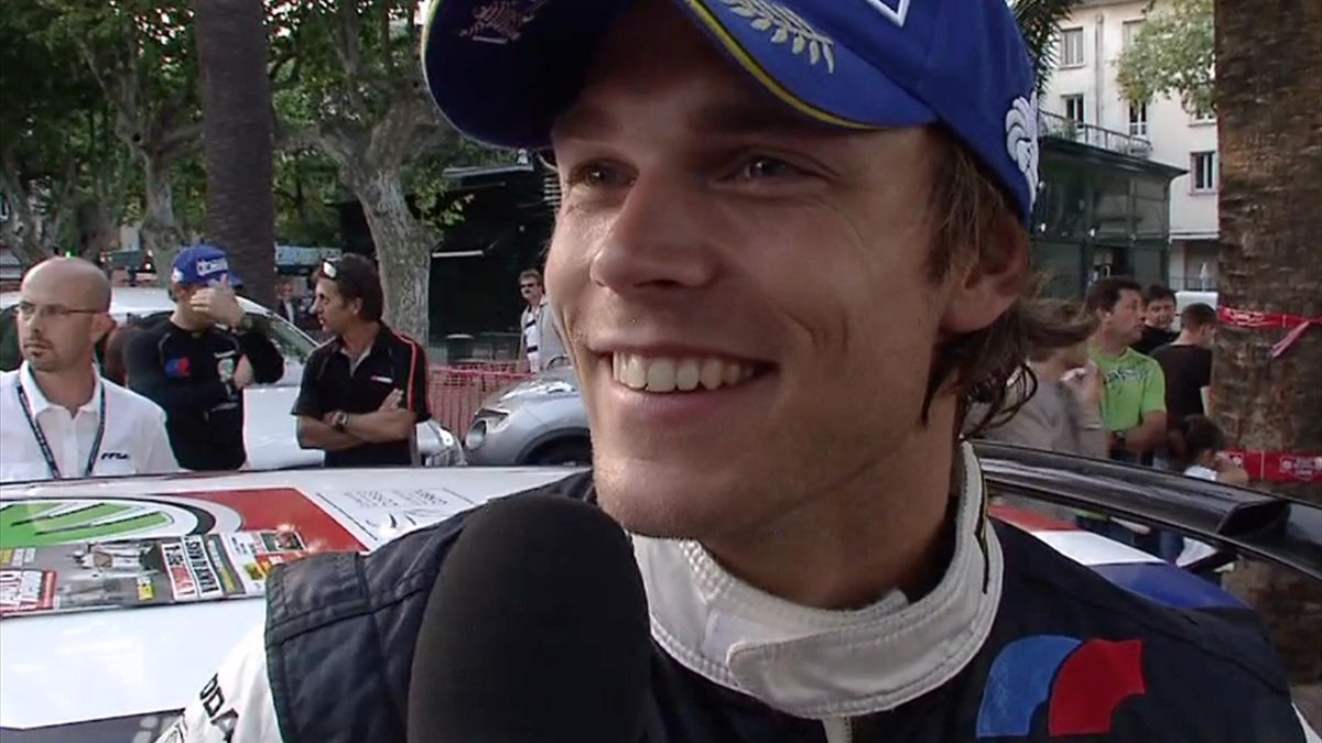 IRC CORSICA ITW END OF RALLY MIKKELSEN