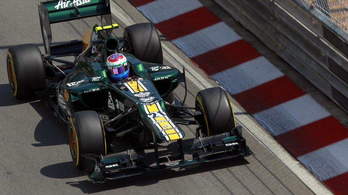 2012 Monaco GP Caterham Petrov