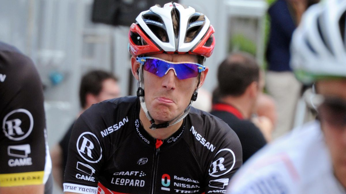 Andy Schleck Out Of Tour Eurosport