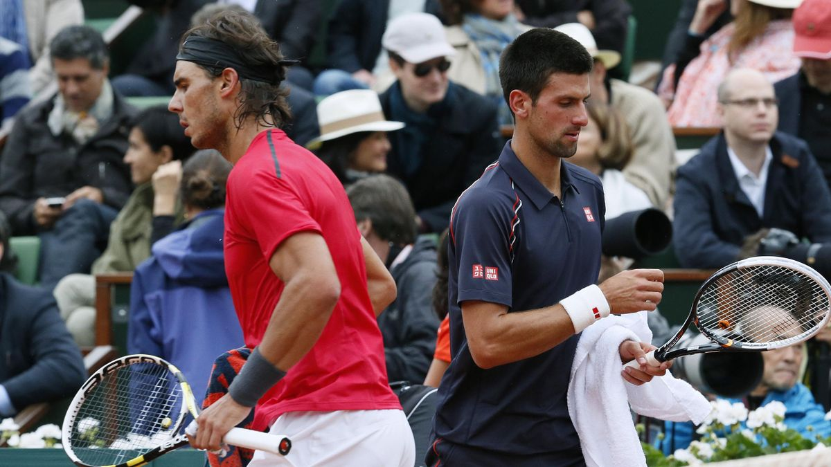 TENNIS 2012 Nadal et Djokovic