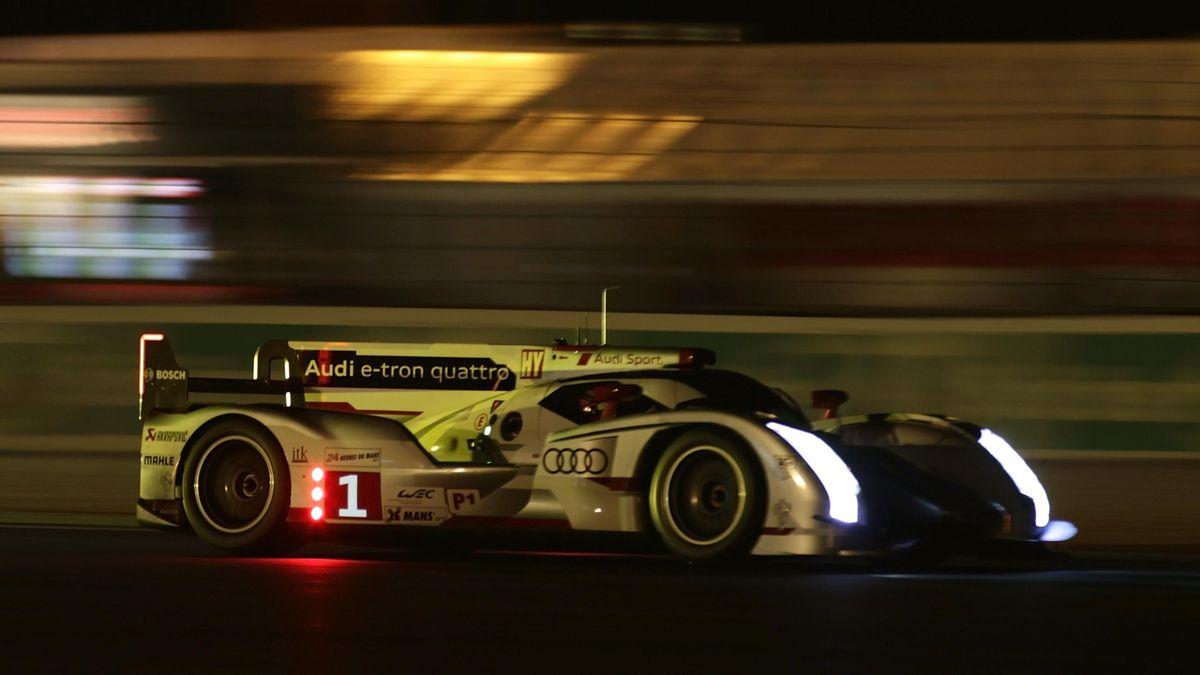 2012 24 Heures du Mans Qualification Audi N.1 Fassler Lotterer Tréluyer