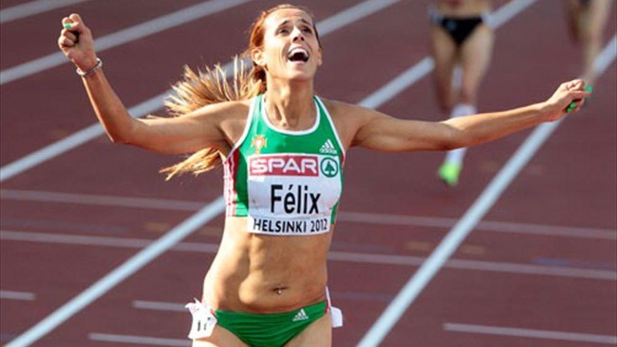 Dulce Félix campeã da europa dos 10000m