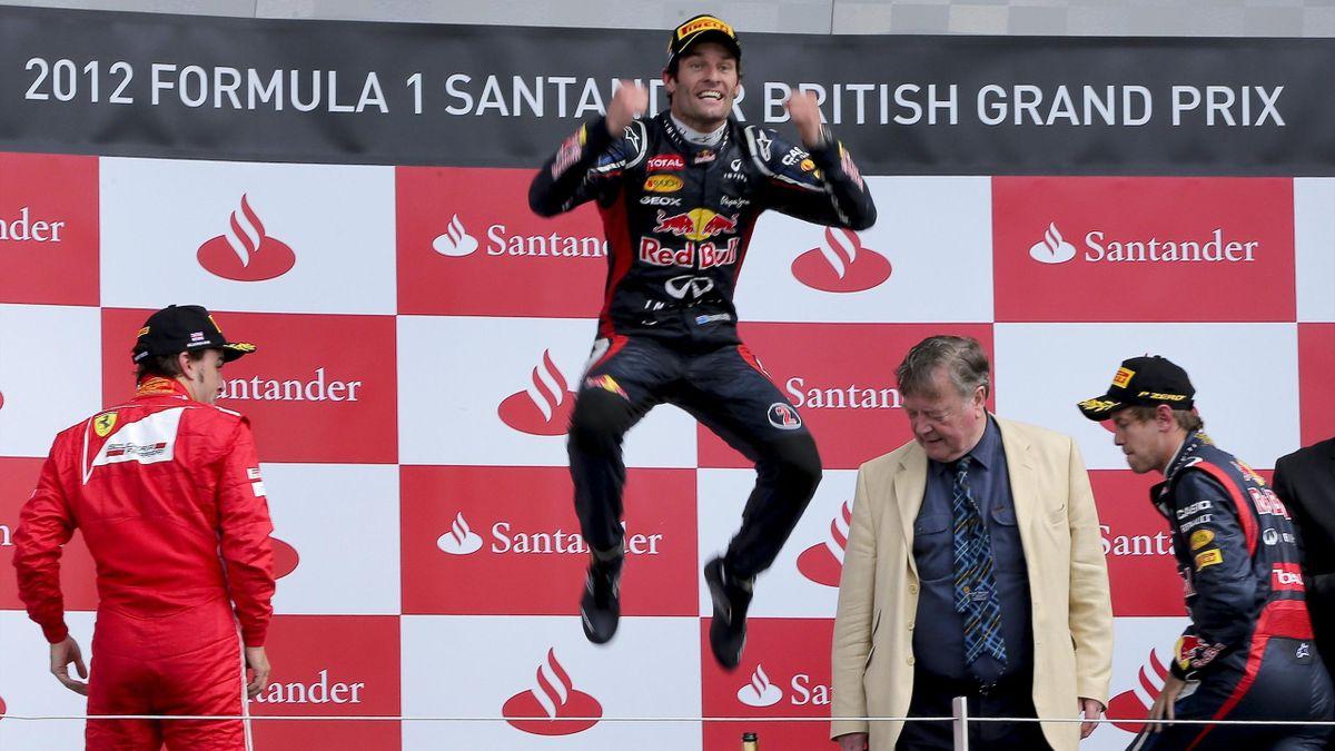 2012 GP Silverstone Mark Webber