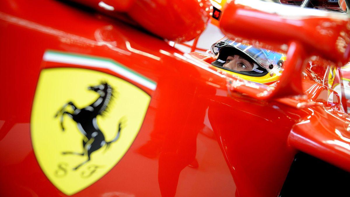 2012 GP de Grande Bretagne Ferrari Alonso